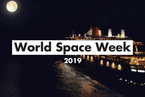 World Space Week Card