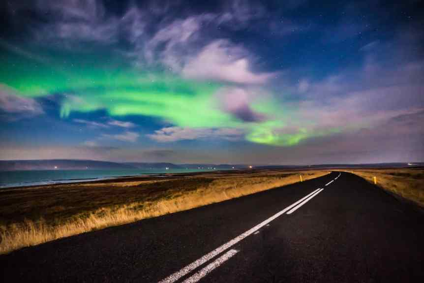 Where to See the Northern Lights in Iceland - Andrés Nieto Porras via Flickr