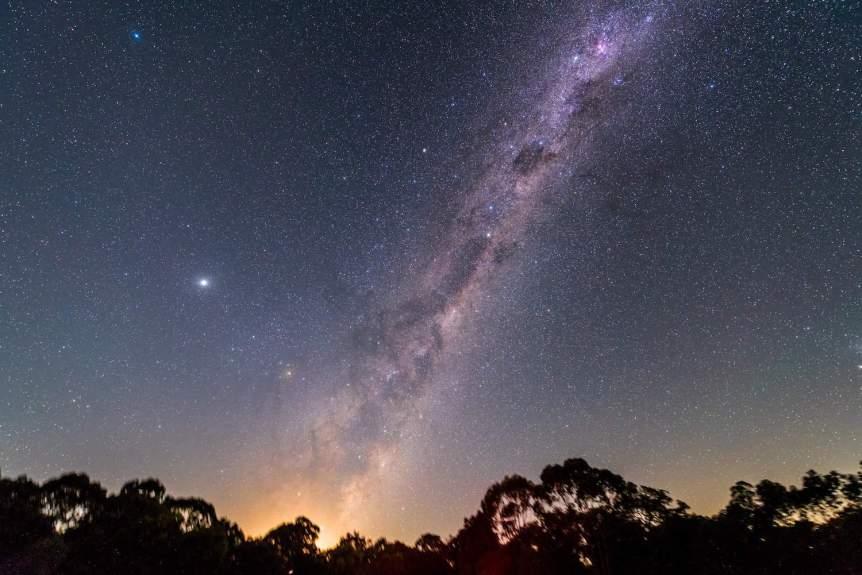 Milky Way & Jupiter - cafuego via Flickr