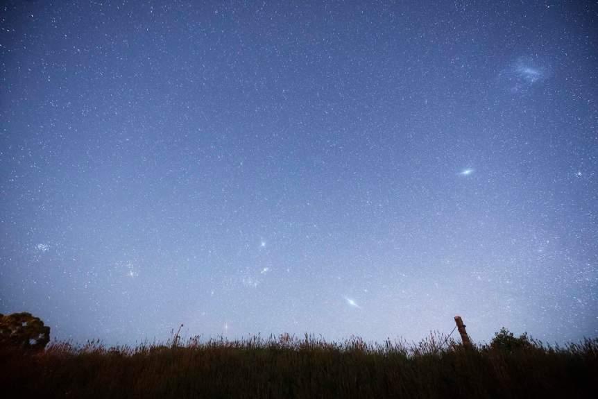 Night Sky in January - M41 - cafuego via Flickr