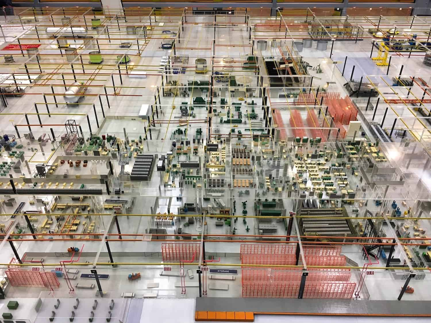 Michoud Assembly Facility - Model Room