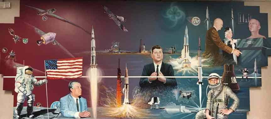 NASA Marshall Mural