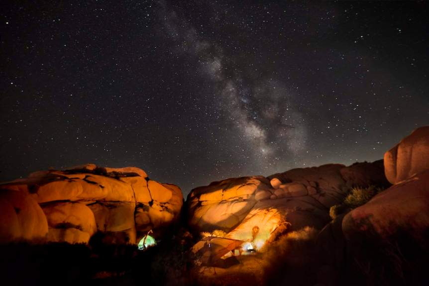 Night Sky in March - Hannah Schwalbe for NPS via Flickr