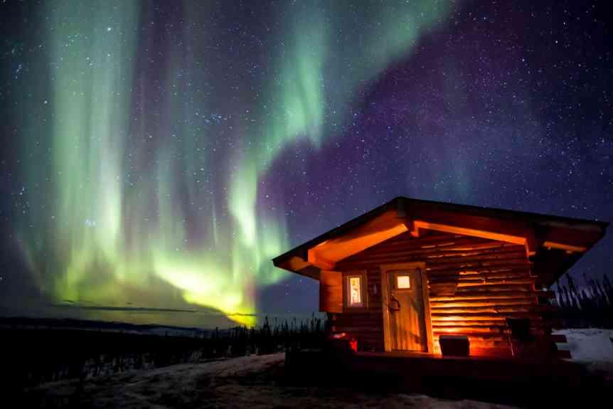 Northern Lights in Alaska - Bob Wick for BLM via Flickr