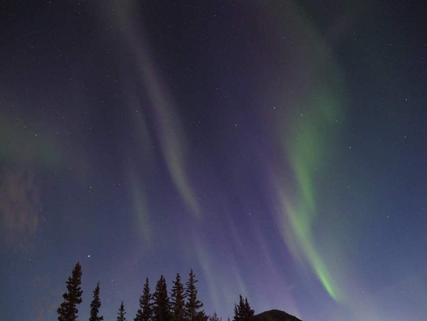 Northern Lights in Canada - British Columbia - Jim Thoburn via Flickr