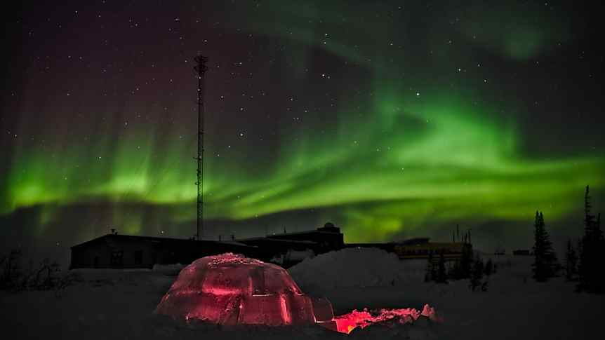 Northern Lights in Canada - Manitoba - Emmanuel Milou via Flickr