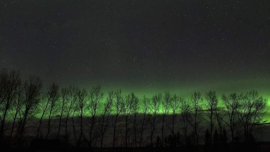 Northern Lights in Canada - Manitoba - Robert Linsdell via Flickr