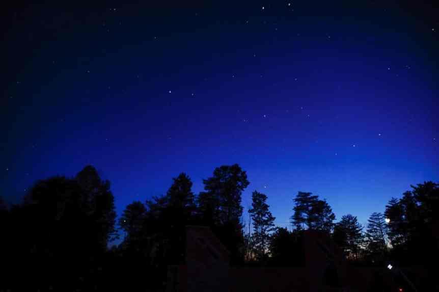 Stargazing in Columbus - Hocking Hills