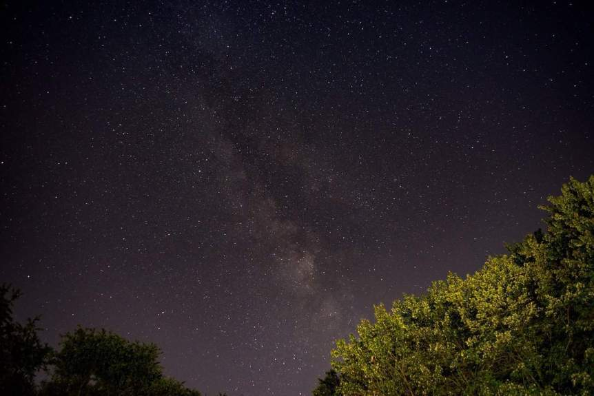Milky Way in Western Pennsylvania - John Brighenti via Flickr