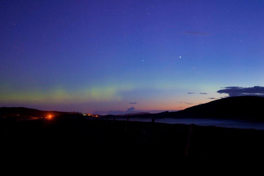 Northern Lights in Ireland - Greg Clarke via Flickr