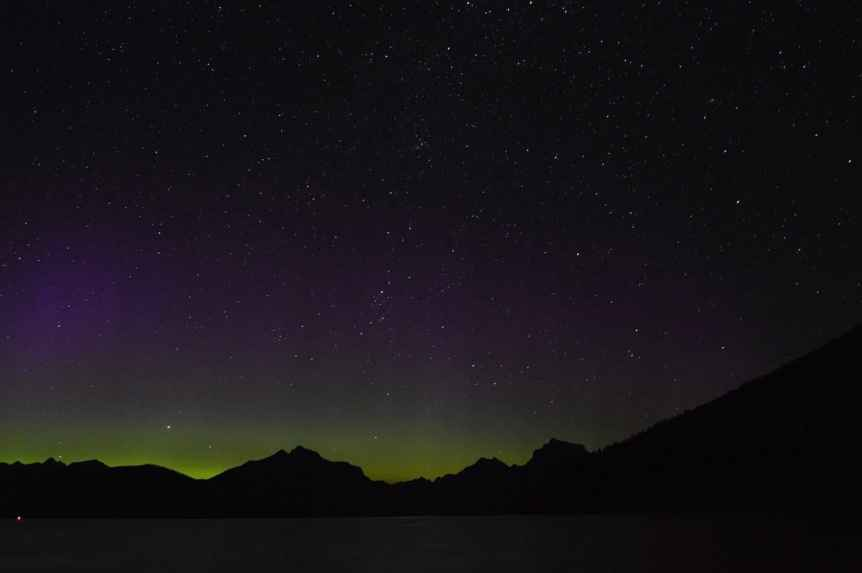 Northern Lights in Montana