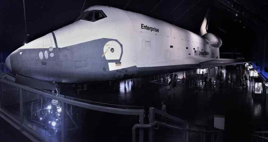 Space Shuttle Enterprise Hero - Guy Percival