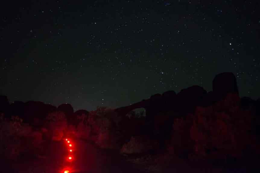 Devils Garden Campground Trail - NPS/Chris Wonderly