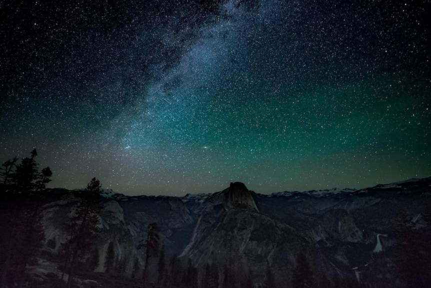 Yosemite Stargazing - Milky Way
