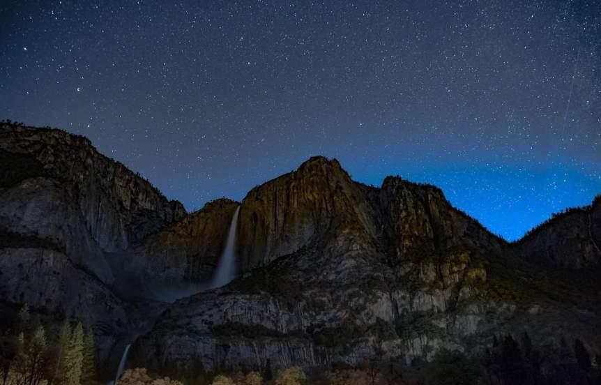 Yosemite Stargazing - Yosemite Falls
