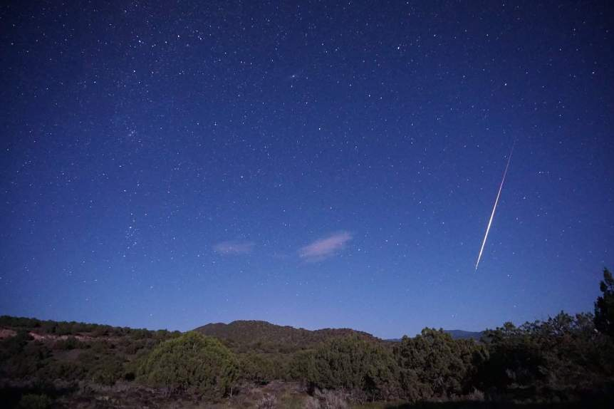 Perseids Meteor Shower - Mike Lewinski via Flickr