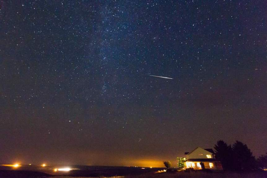 Perseids Meteor Shower - Sjensen~ via Flickr