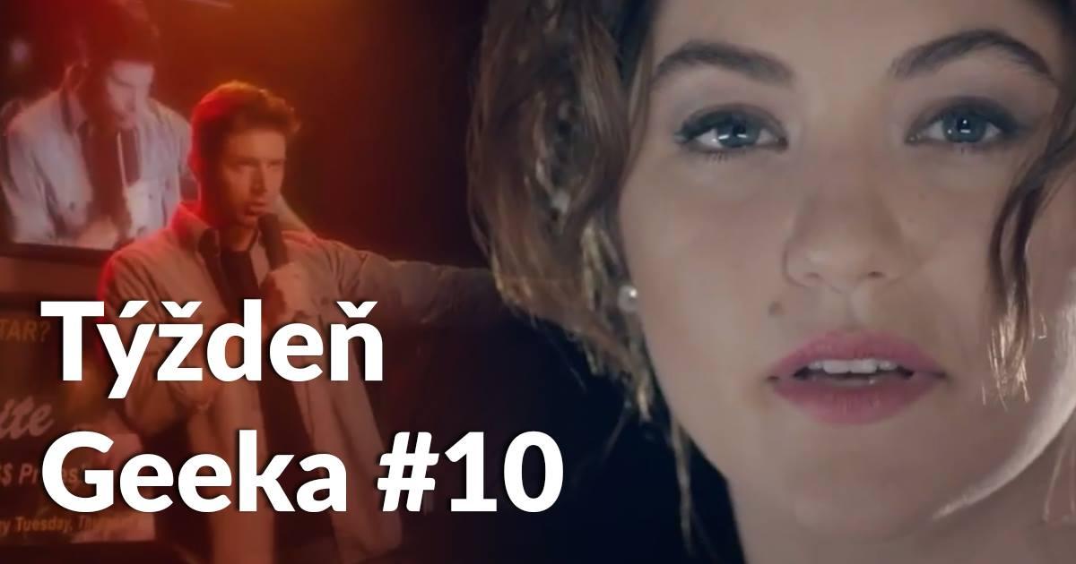 """Featured image for """"Týždeň Geeka #10: Šokujúce! Dotkli sme sa mainstreamu!"""""""