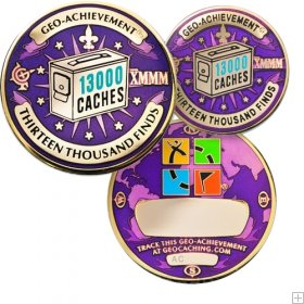 13000-finds-geoachievement-geocoin-and-pin-10916 13000 Finds GeoAchievement Geocoin and Pin-medium-280x280
