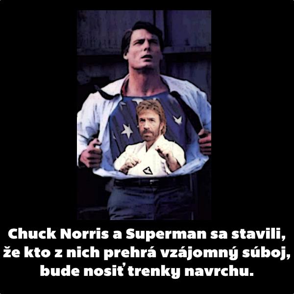 chuck norris superman