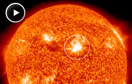 Second X-class flare erupts on the Sun in less than a month