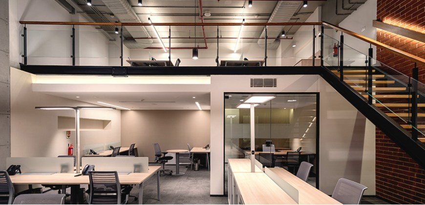 Furnished Office In New Delhi By Atelier