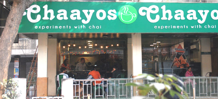 tea cafe shop rented in new delhi to chaayos restaurant brand