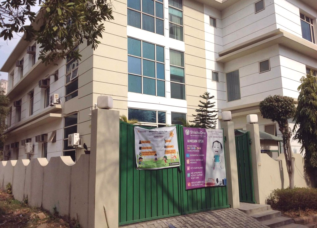 playschool property leased in gurgaon to shishuone pre school
