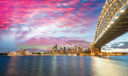 澳大利亚 南半球的跨年欢愉