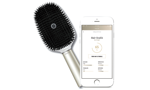 Kérastase and Nokia Unveil World's First Smart Hairbrush