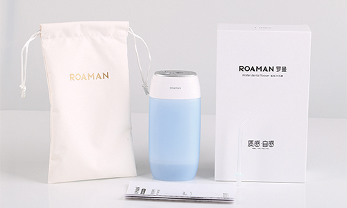 Roaman Portable Electric Water Floss Teeth Cleaner