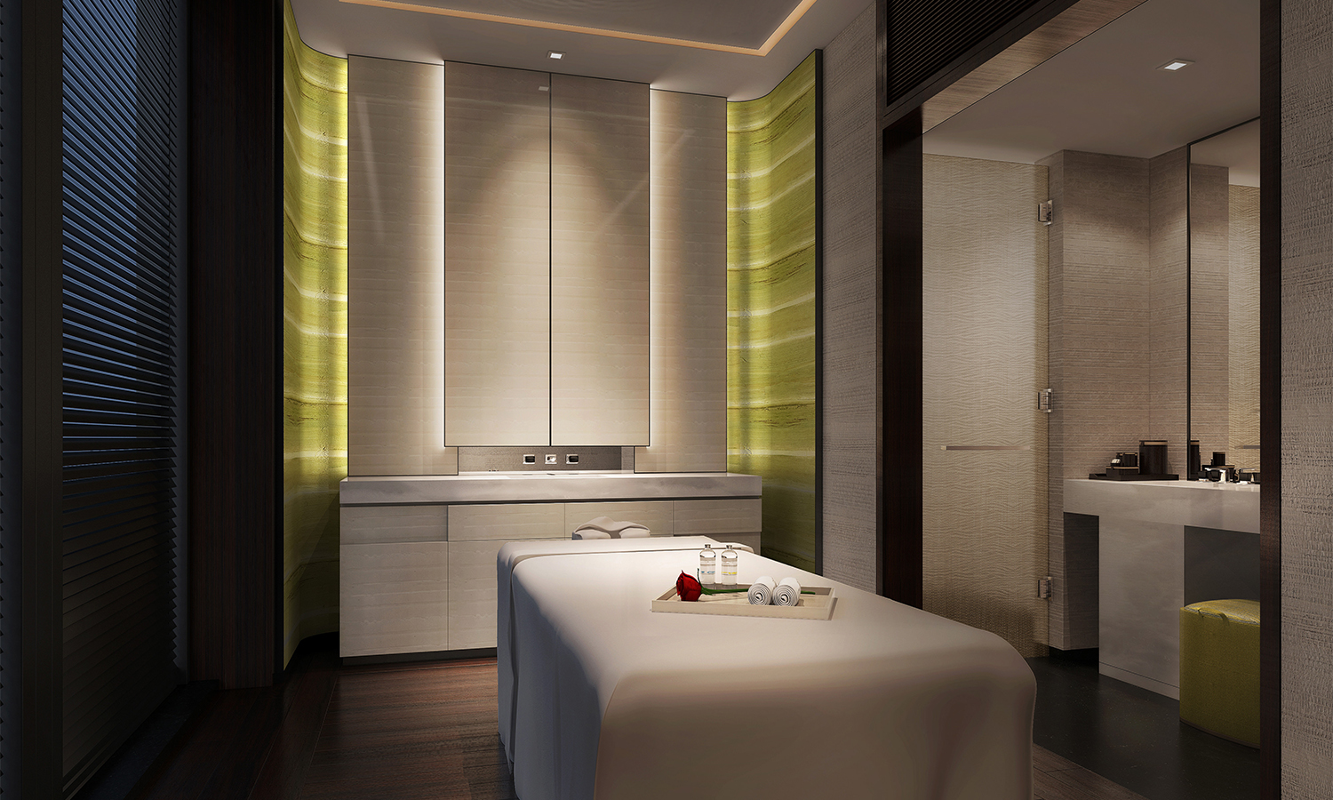 Willow Stream Spa at Fairmont Wuhan