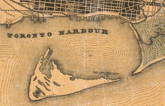 Toronto Island, 1860
