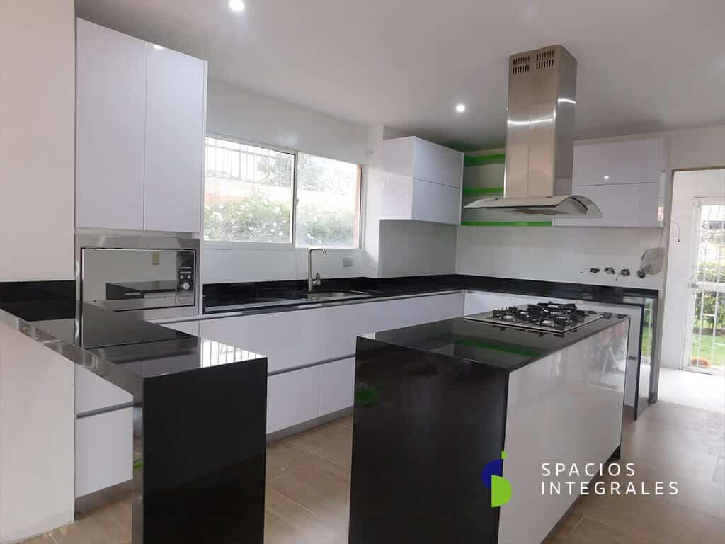 Cocinas Integrales Con Barra De Granito Novocom Top