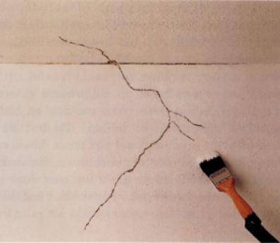 scheuren-muur
