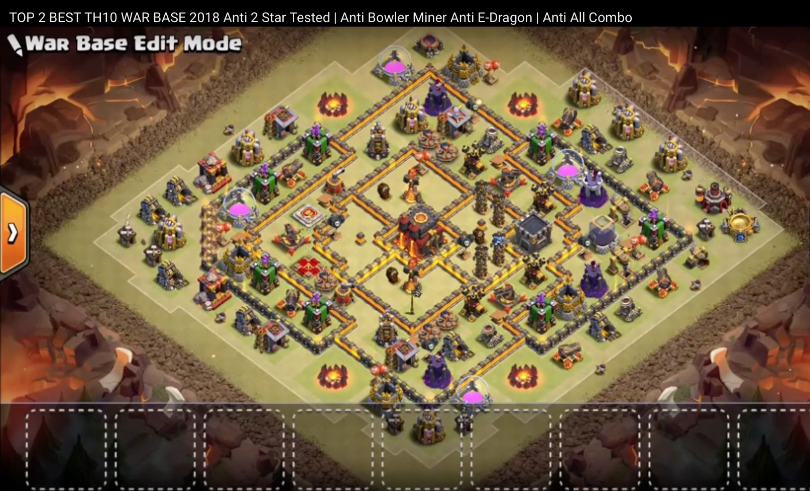 Th10 5 Mapas De Guerra Nuevos Nov2018 Clan Espa 241 A