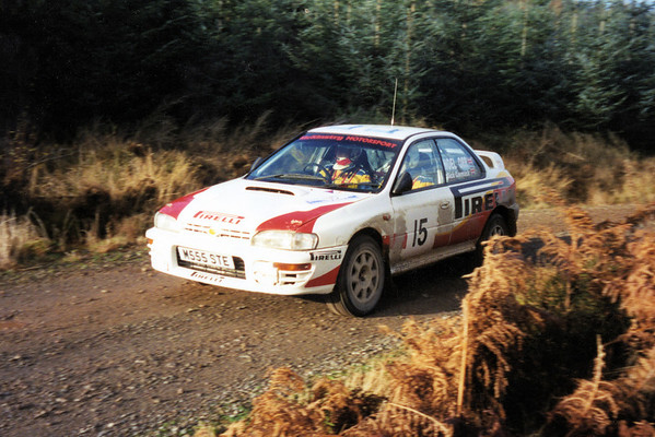 Dick Cormack & Noel Orr Galloway Hills Rally