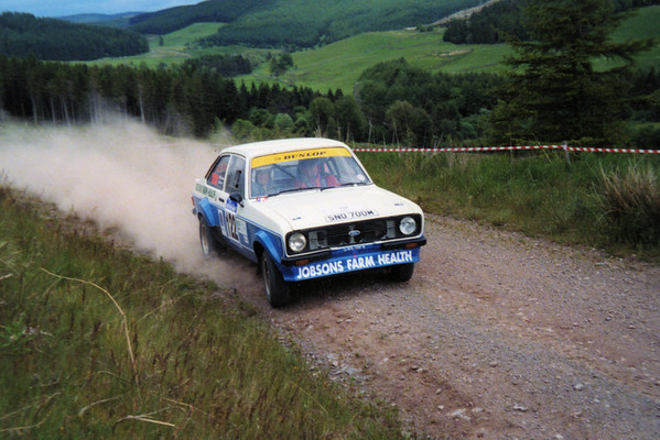 Phil Jobson & Chris Hunter - Scottish Rally