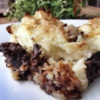 Ox cheek cottage pie