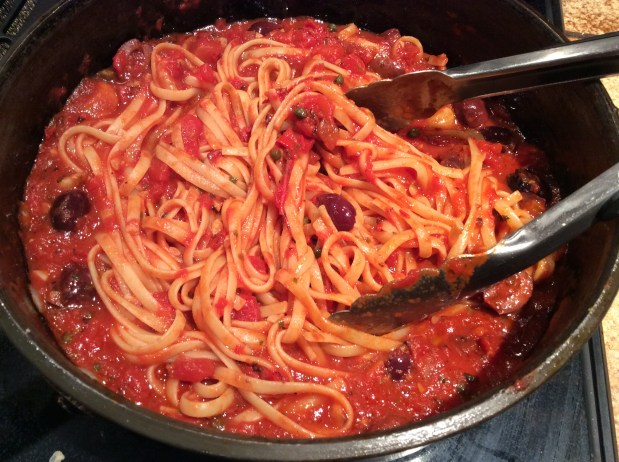 November in the kitchen – Pasta Puttanesca