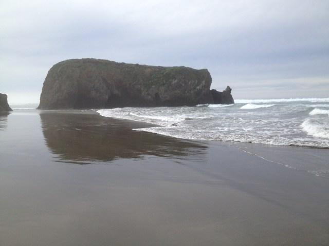 Whale Rock Seaside Beach