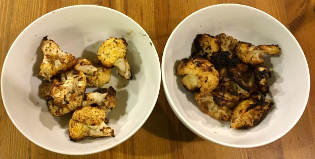 Janurary in the Kitchen – Roast Cauliflower with Cumin and Sumac