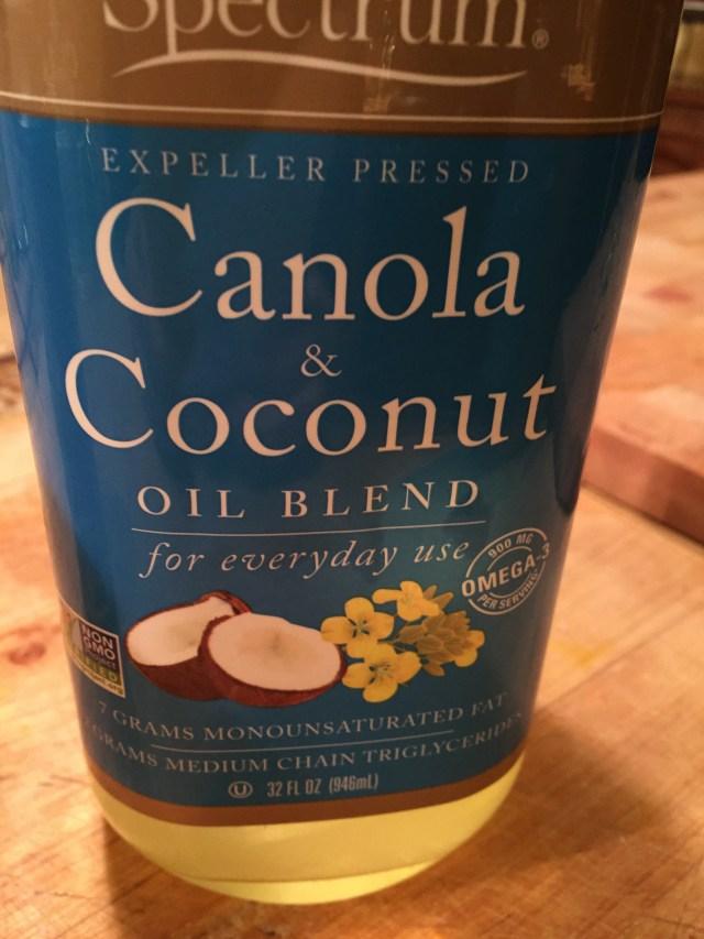 Canola & Coconut Oil Blend