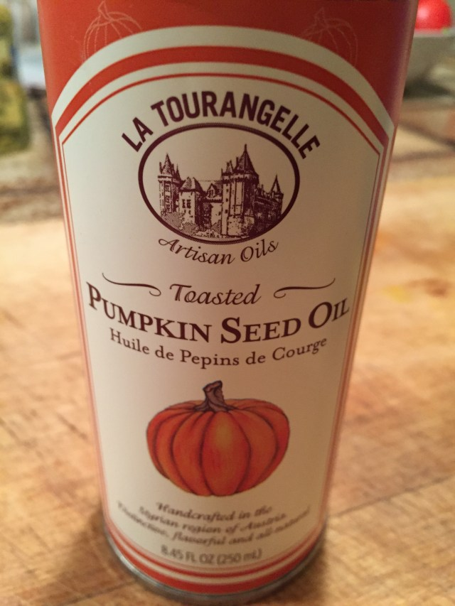 Toasted Pumpkin Seed Oil