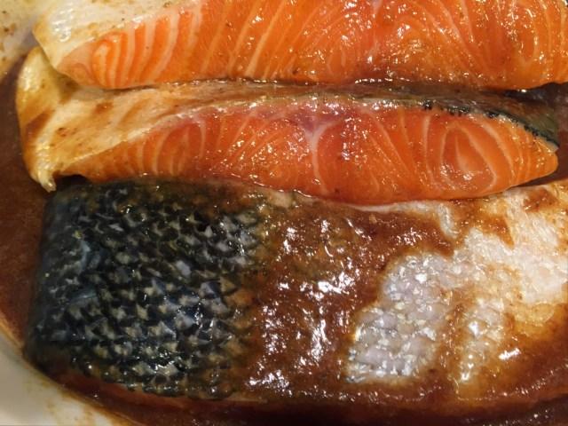 Salmon Steaks in Teriyaki Sauce