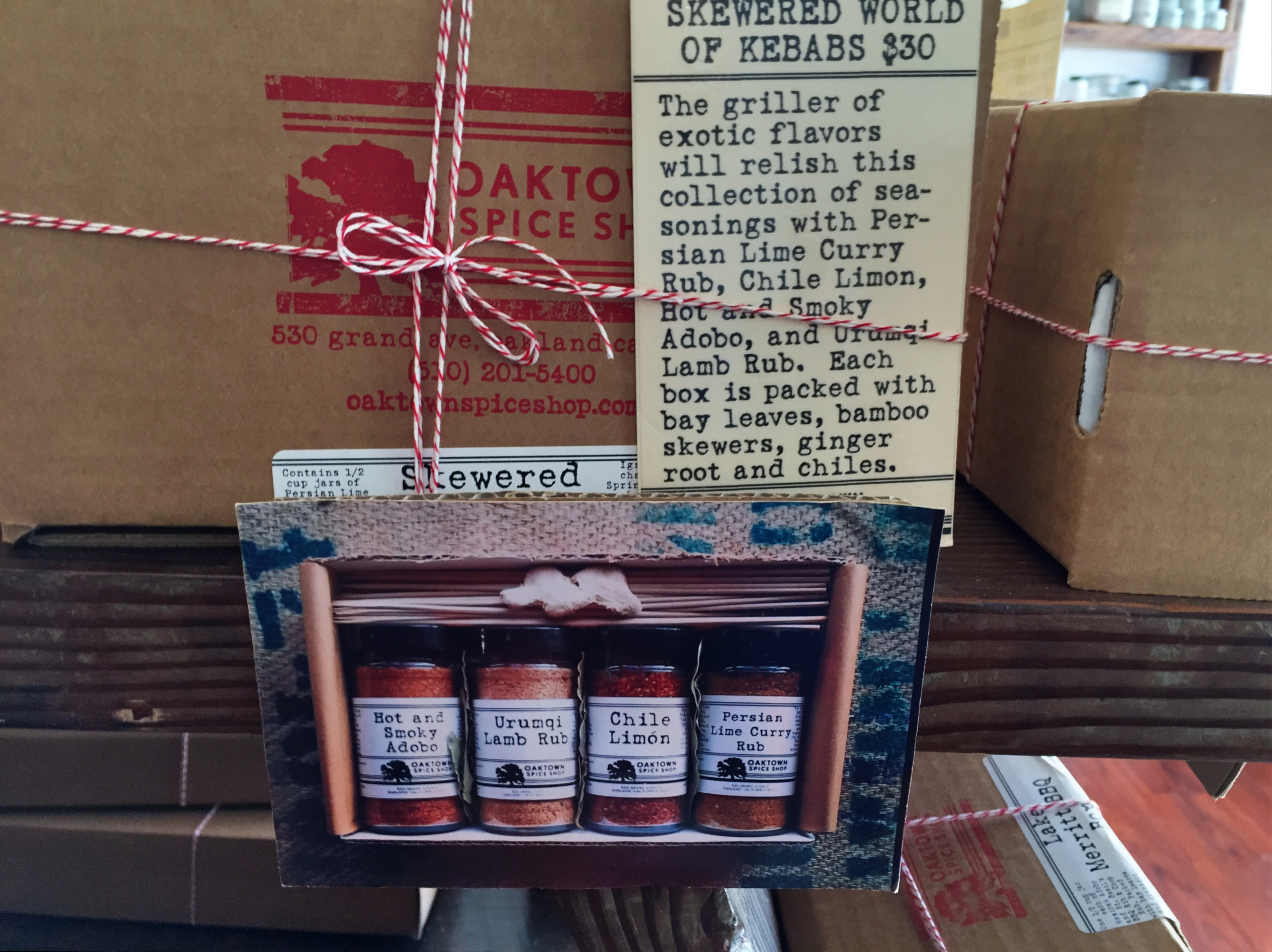Spice Mixes - Gift Boxes