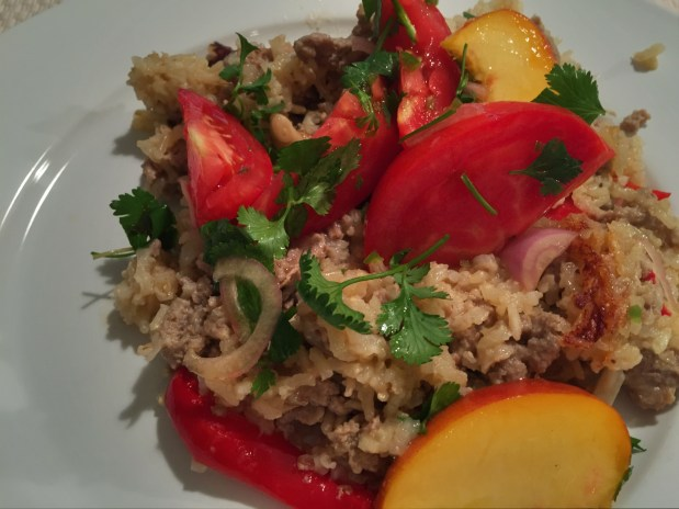 September in the kitchen – One Pot Thai Turkey and Rice