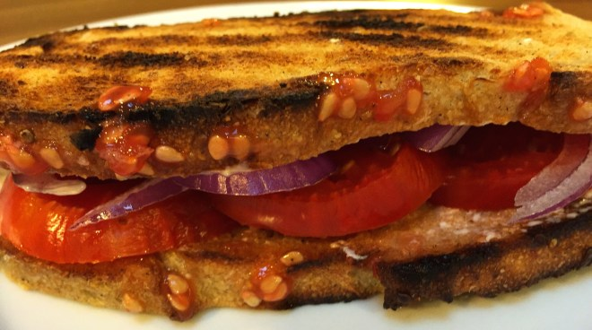 Kitchen Sink Tomato Sandwich