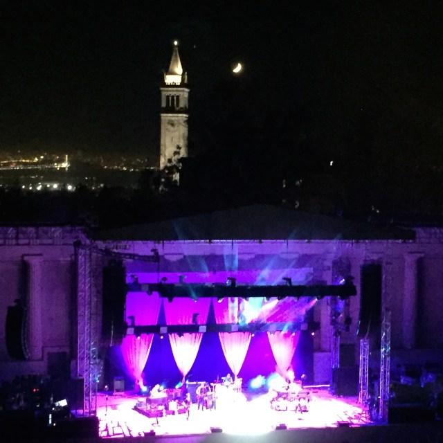 Greek Theater on warm summer night