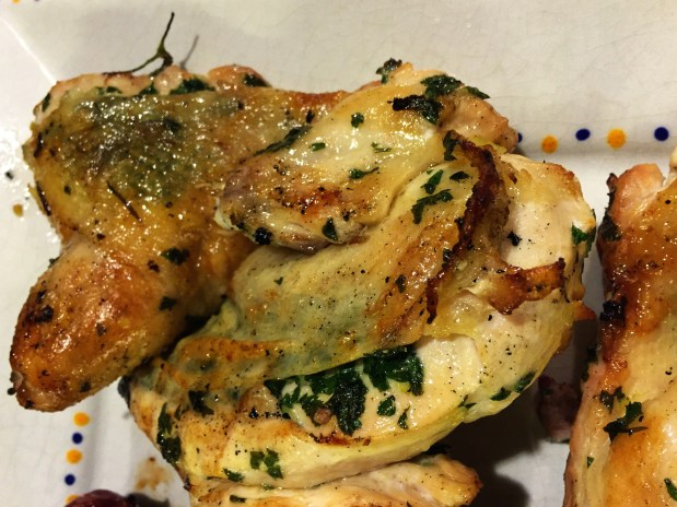 October in the Kitchen – Pollo Spago